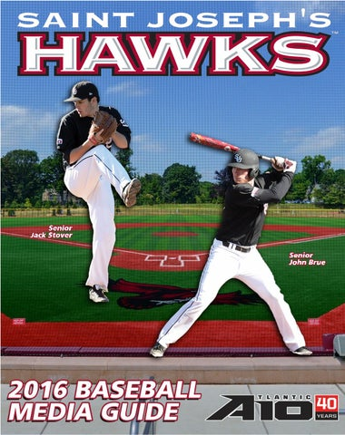 727fd050ac5 2016 Saint Joseph s Baseball Media Guide by Saint Joseph s Athletics ...