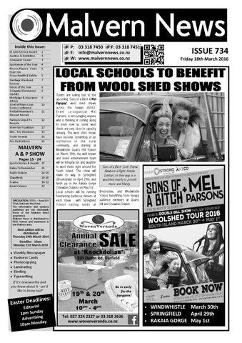 Issue 734 Friday 18th March 2016 By Malvern News Issuu