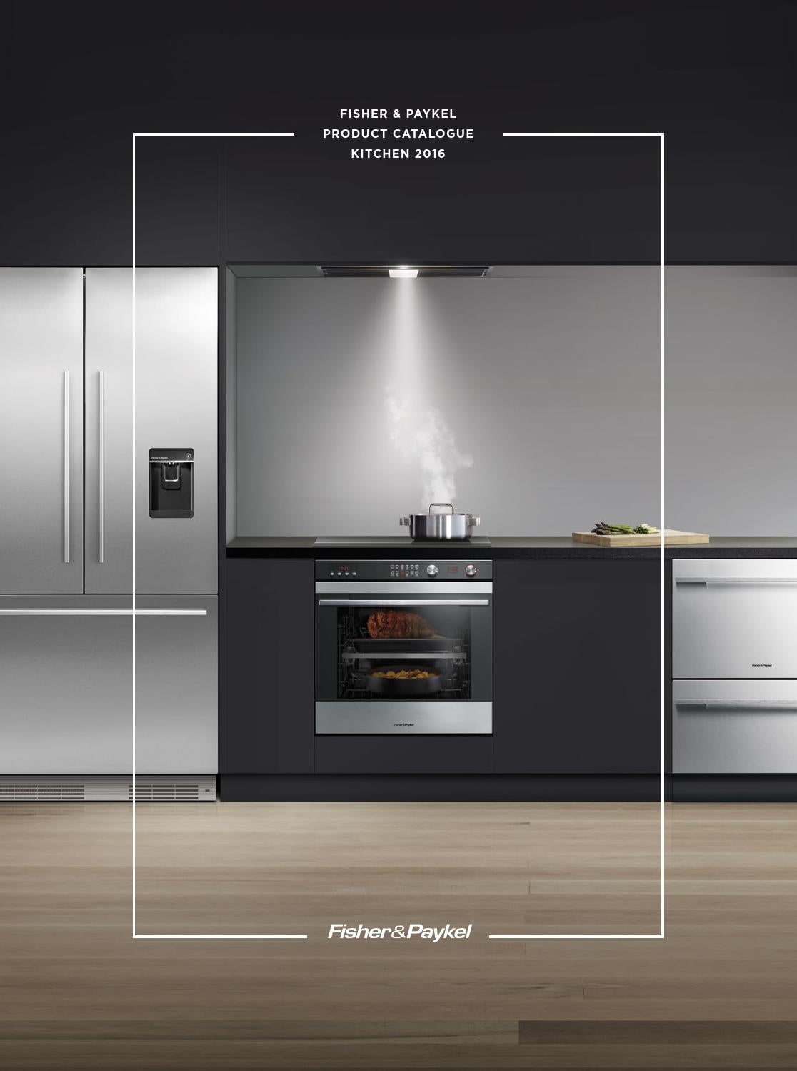 Fisher & Paykel New Zealand Product Catalogue Kitchen 2016 ...