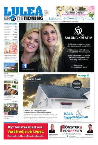 big sale 37355 5ac9b Luleå Gratistidning med Företag   Framtid bilaga by Svenska ...