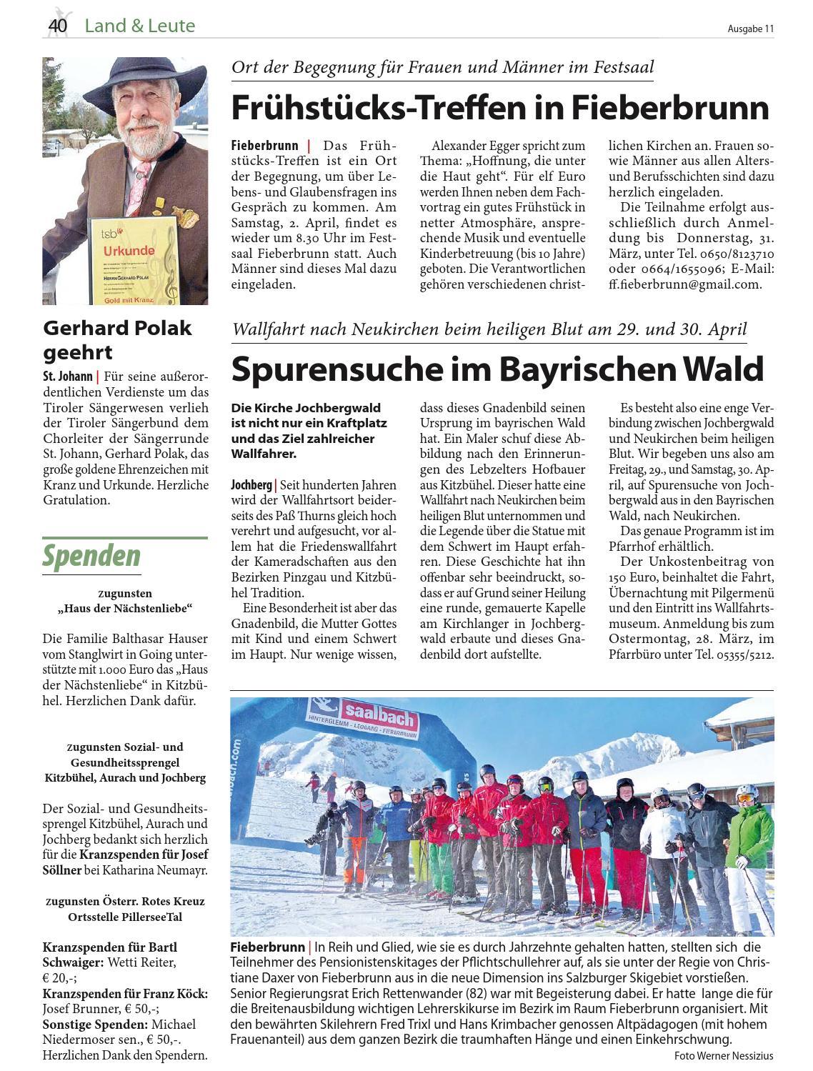 Frhstcks-Treffen fr Frauen in Fieberbrunn - Kitzbhel