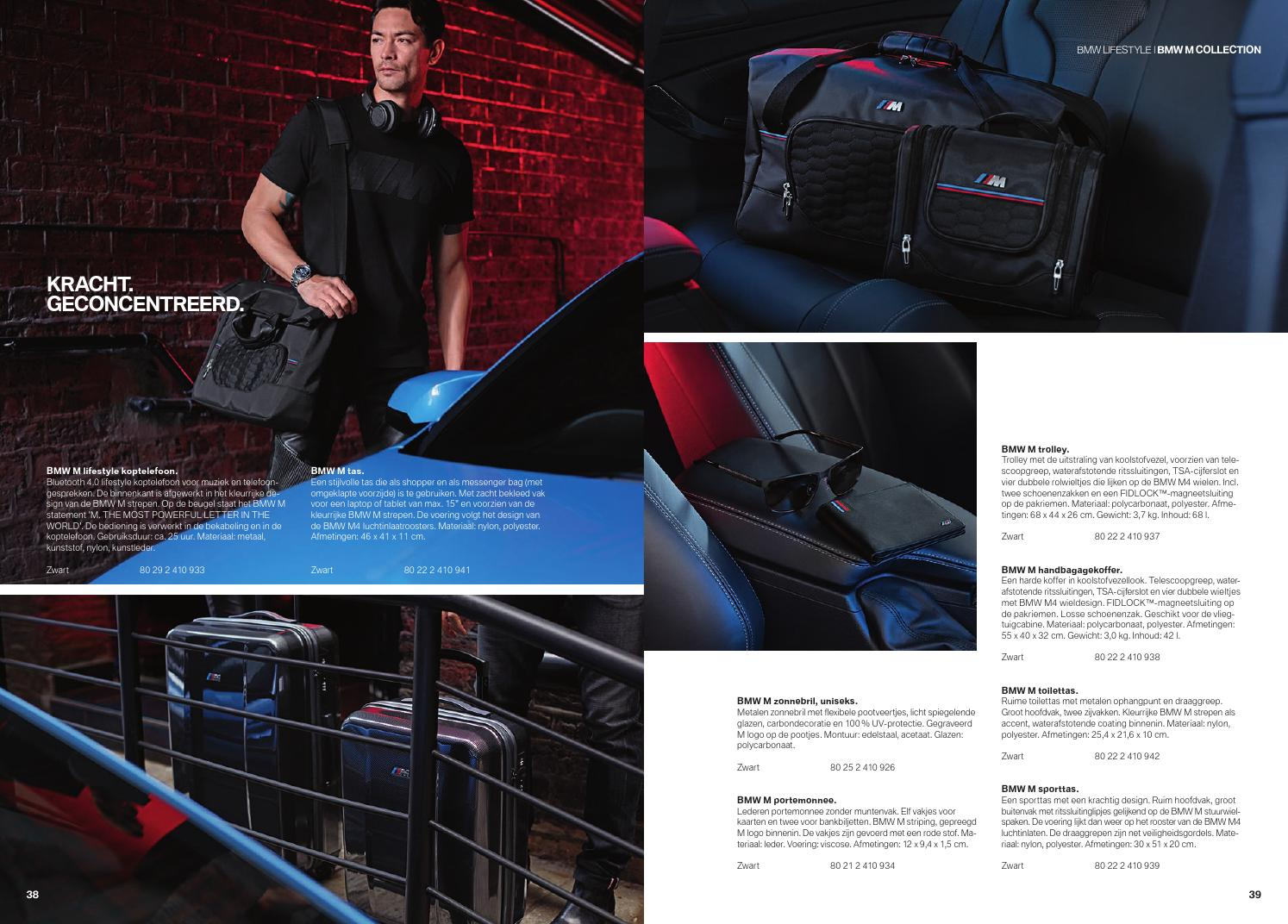Nieuw Bmw Lifestyle Main Collection By Bmw Group Belux Issuu