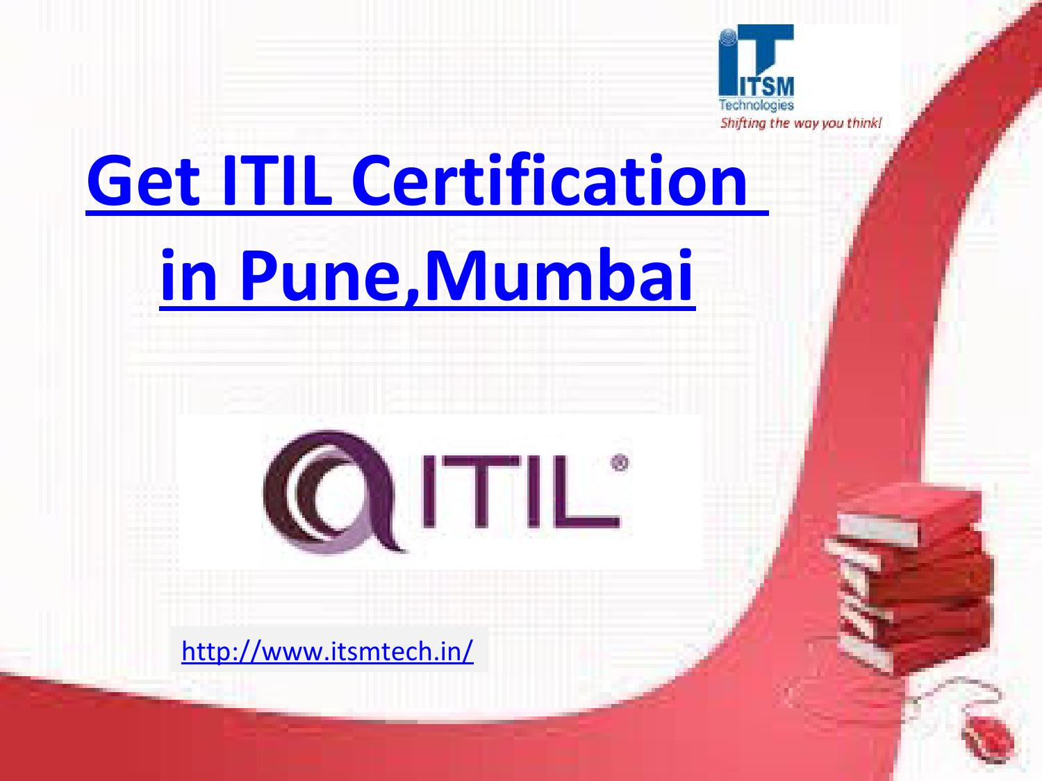 Itil Certification In Punemumbai By Itsmtech Issuu
