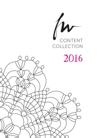 Fw Content Collection 2016 By FallonFWMedia