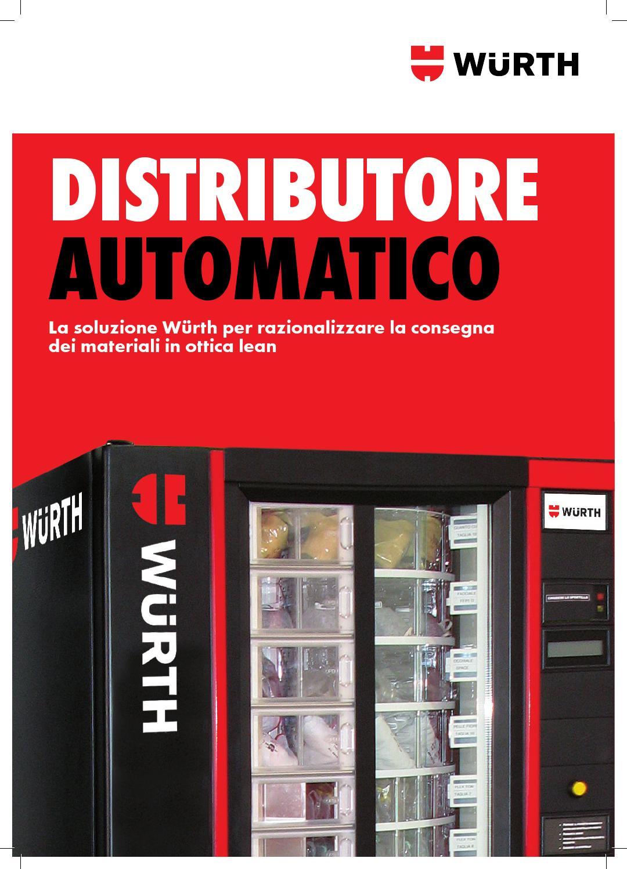 Distributori automatici w rth by w rth italia issuu for Sinonimo di veloce