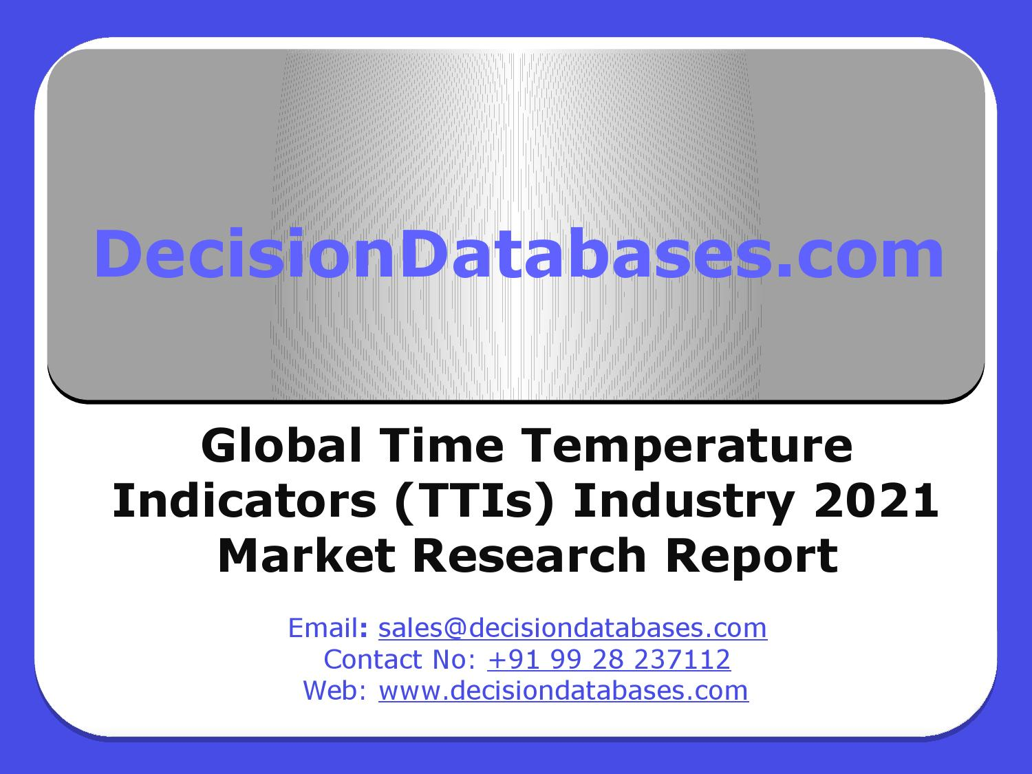 This is a graphic of Sly Time Temperature Indicator Labels Market
