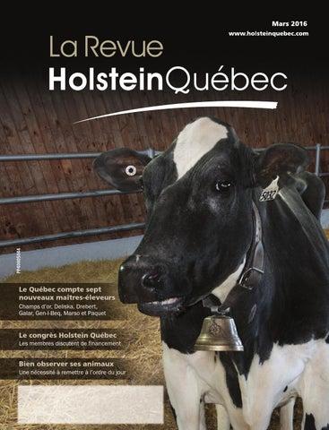Revue Mars 2016 By Holstein Québec Issuu