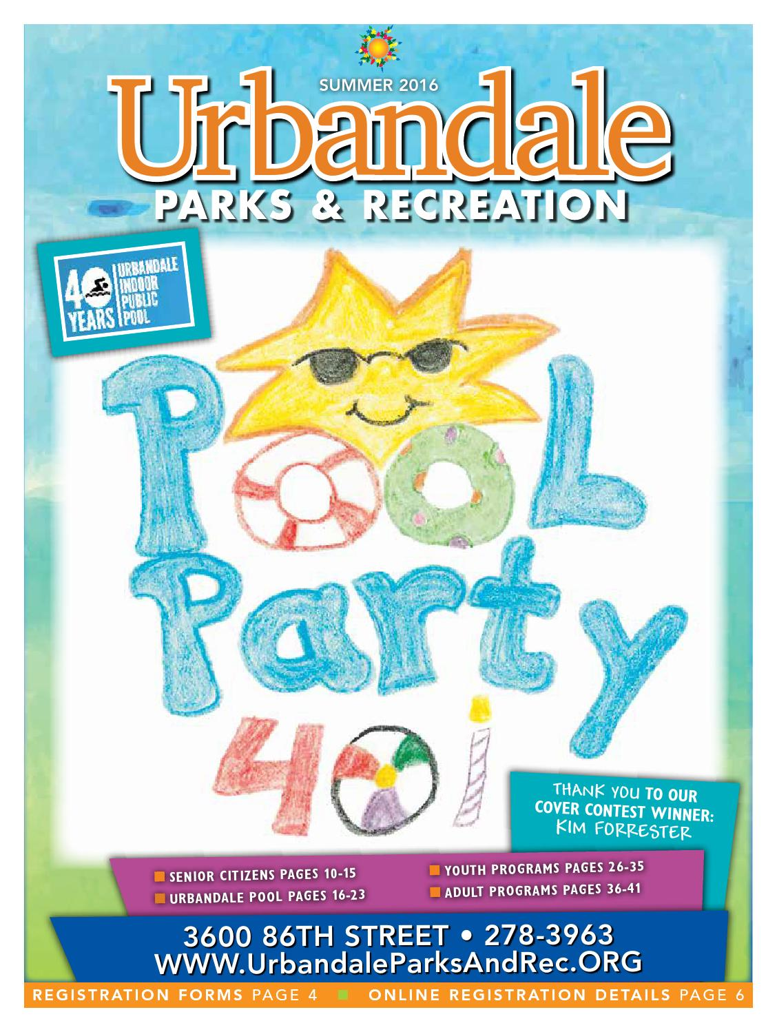 36a012862492 Urbandale Parks   Recreation Summer 2016 Guide by Urbandale Parks ...