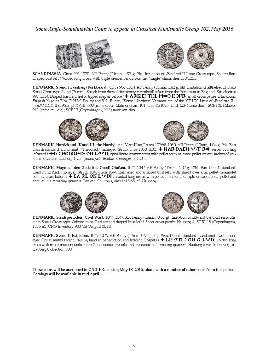 CNG CNR 2016 03 by Classical Numismatic Group, LLC - issuu