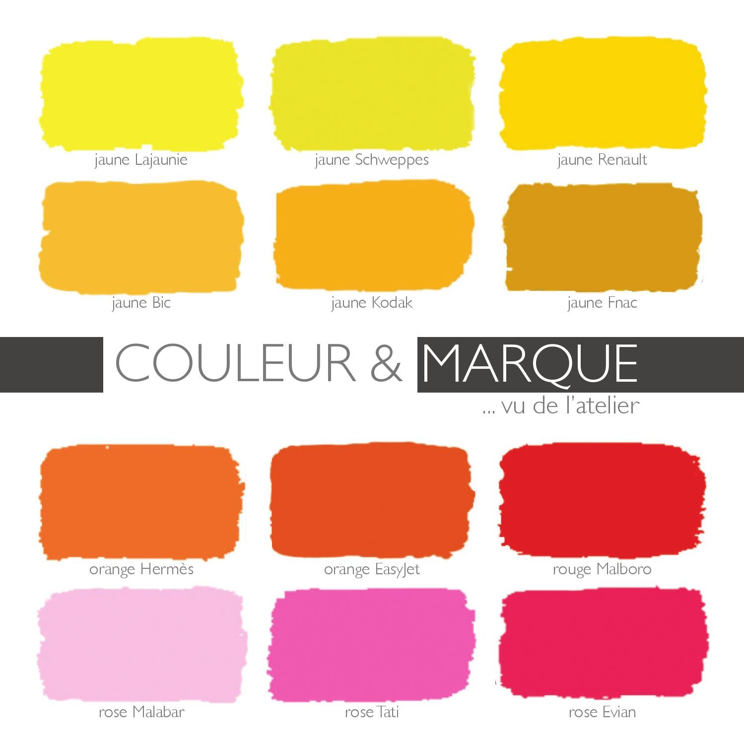 24. couleur & marque, couleur d\'identité by A3DC Atelier 3D couleur ...