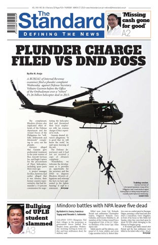 The Standard - 2016 March 17 - Thursday by Manila Standard