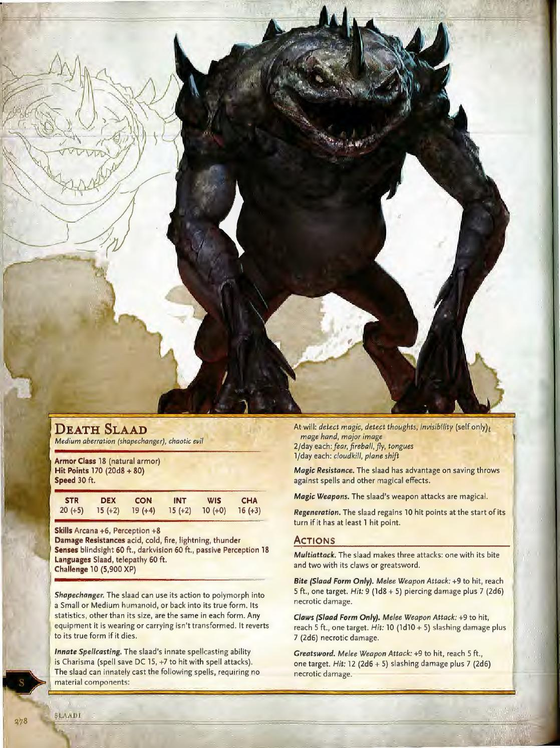 Dnd 5e monsters manual by William Vicentini - issuu