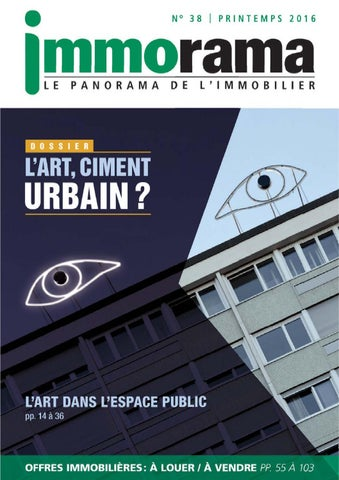 JOURNAL IMMORAMA PRINTEMPS 2016