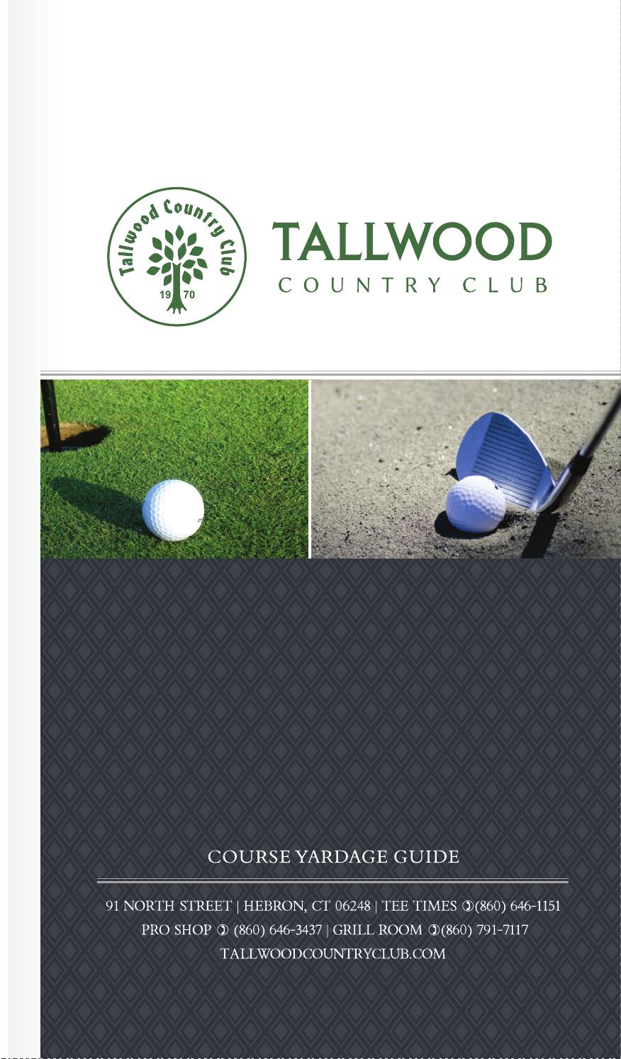 Tallwood country club by bench craft company issuu for Bench craft company fraudsters
