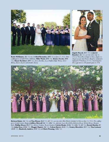TU Alumni Magazine - Spring 2016 by The University of Tulsa