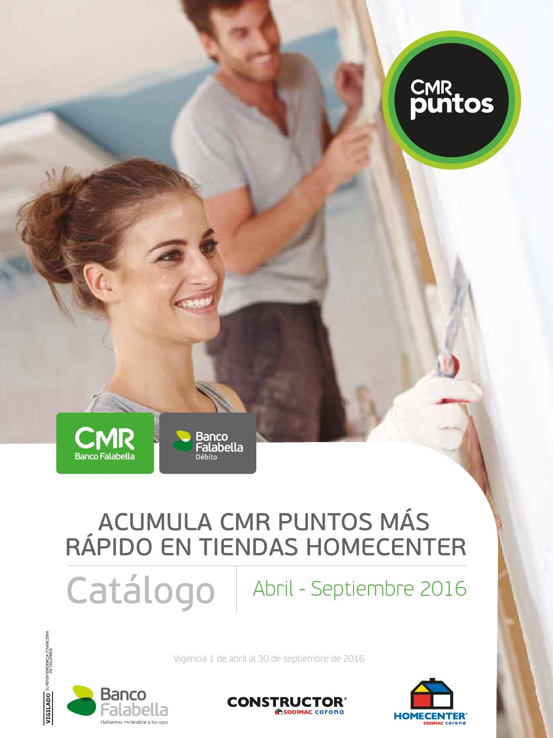8cf5742e181bd Catálogo puntos - Homecenter by Banco Falabella Colombia - issuu
