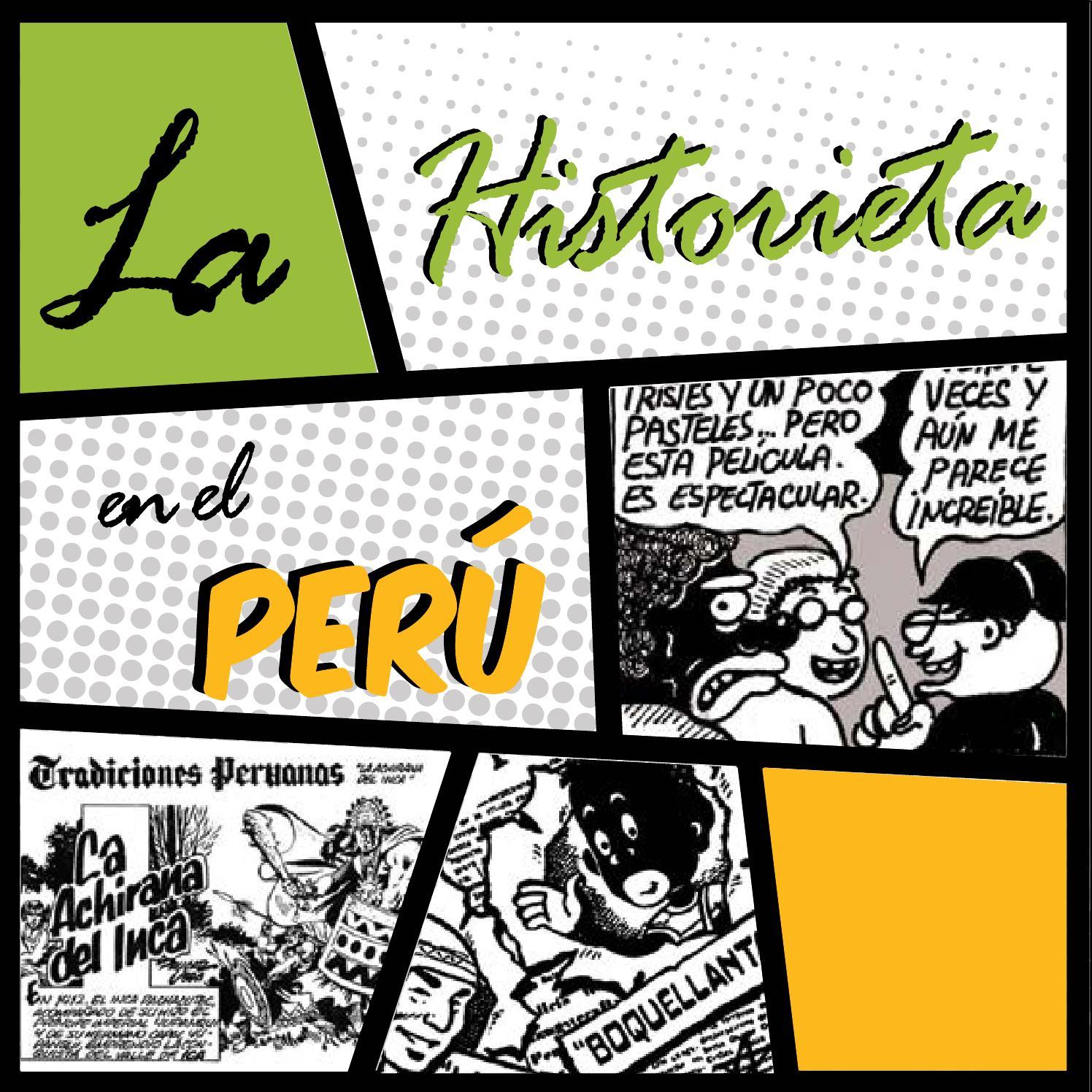La Historieta en el Perú by Mariella Abanto Antaya - issuu