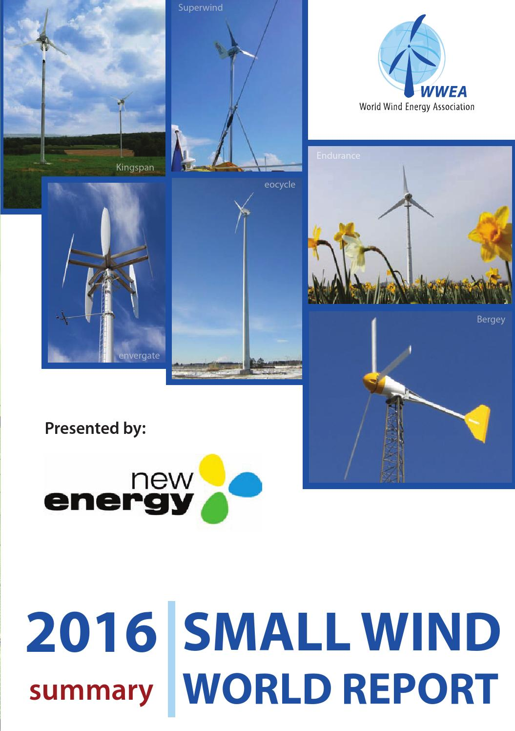 Small Wind World Report 2016 - Summary by Jean Pitteloud - issuu