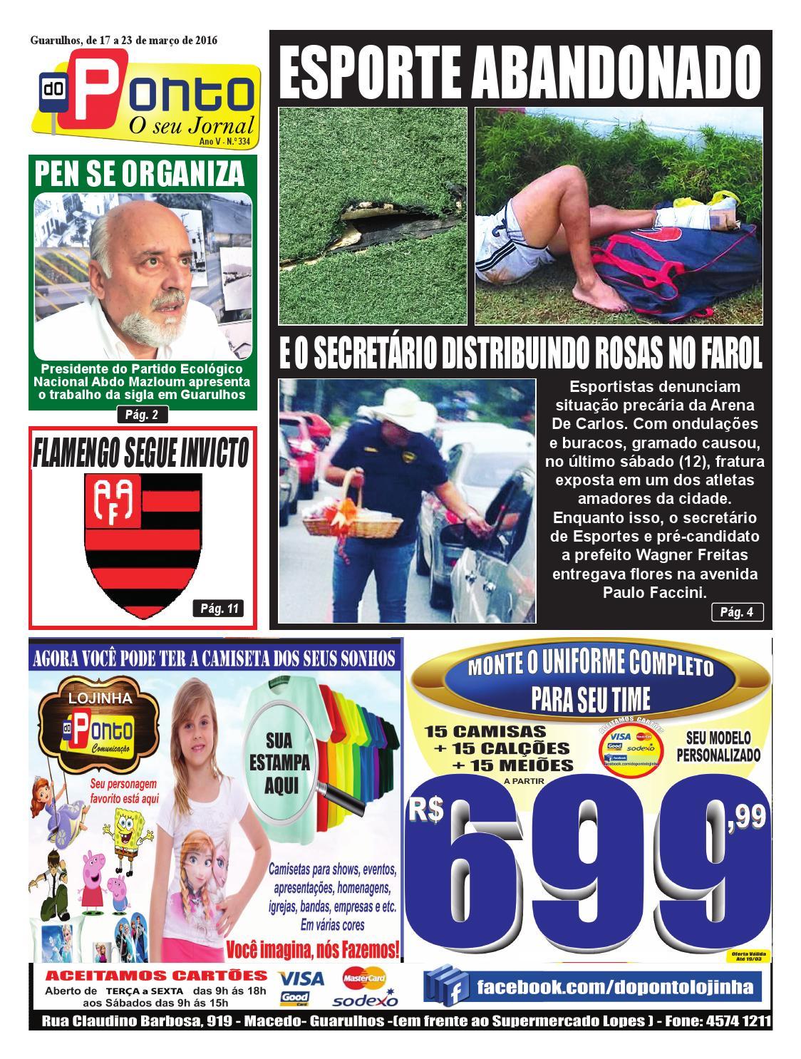 30f4391959 Edição 334 by JORNAL FOLHA DO PONTO - issuu