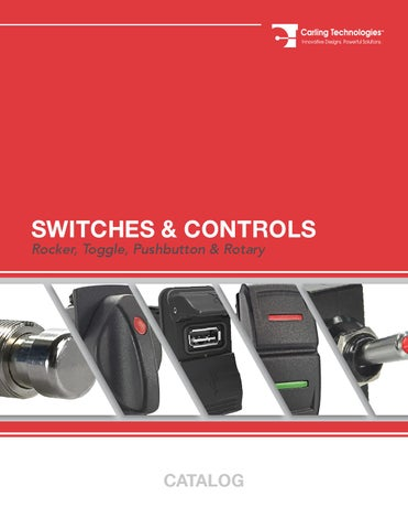 Carling technologies Switch catalog by merchlin - issuu on