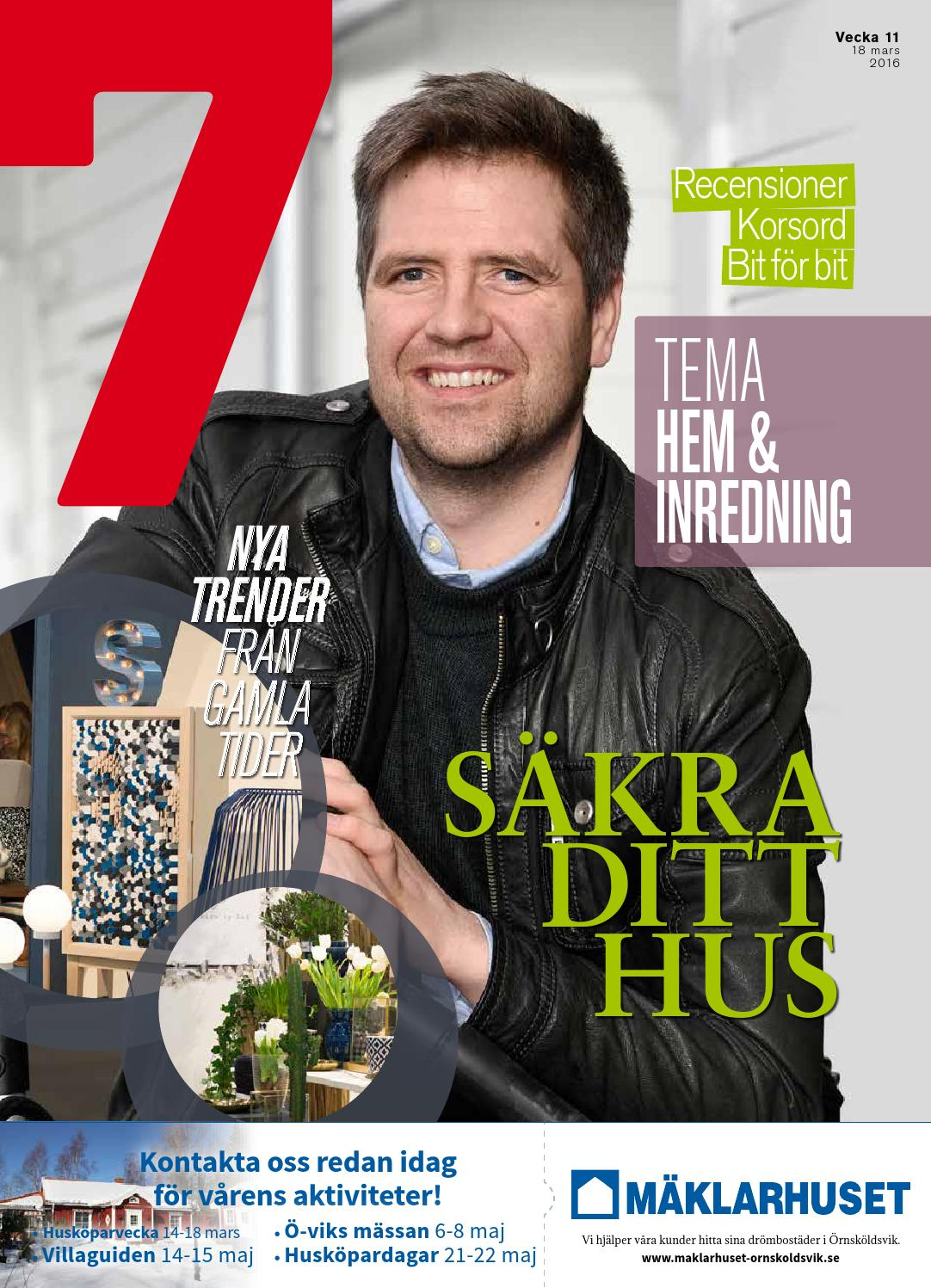 Tidningen 7 Vecka 11 2016 by 7an Mediapartner - issuu c0d0f7a2a1b77