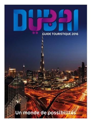 new arrival 7dd83 9017a Dubai Tourism Guide - French 2016 by Dubai Tourism - issuu