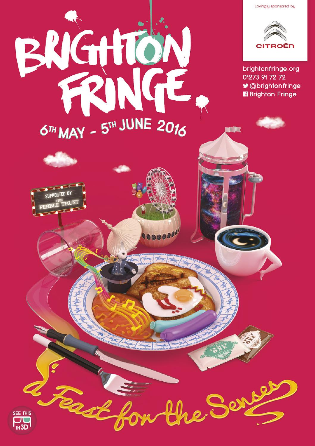 Brighton Fringe Brochure 2016 by Brighton Fringe - issuu