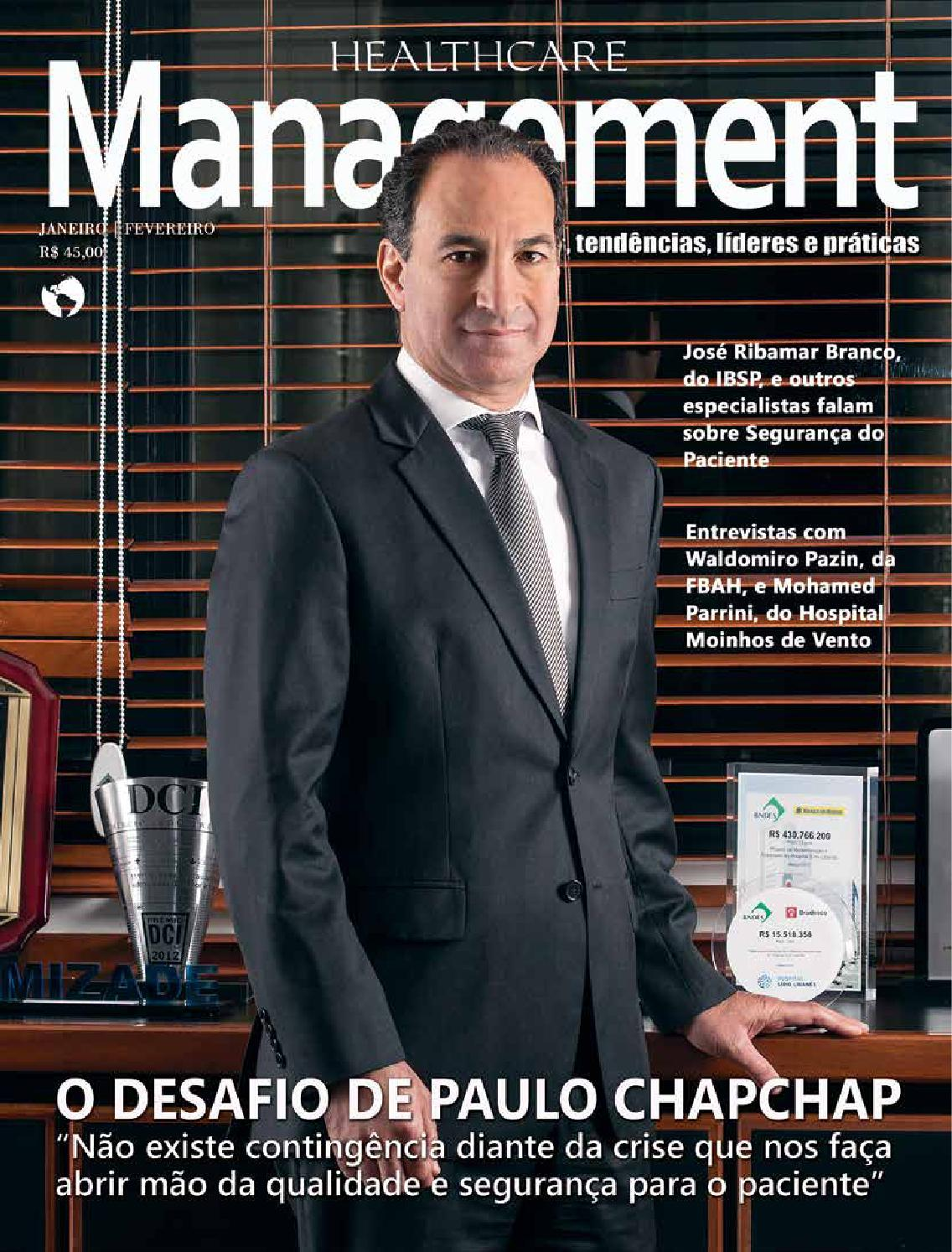2a22fbbe22 Healthcare Management 40ª Edição by Grupo Mídia - issuu