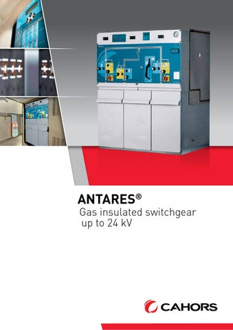 Antares - Gas insulated switchgear (GB) by CAHORS - issuu