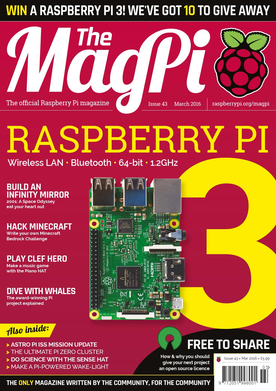 The magpi issue 43 by Michel Tarifa - issuu