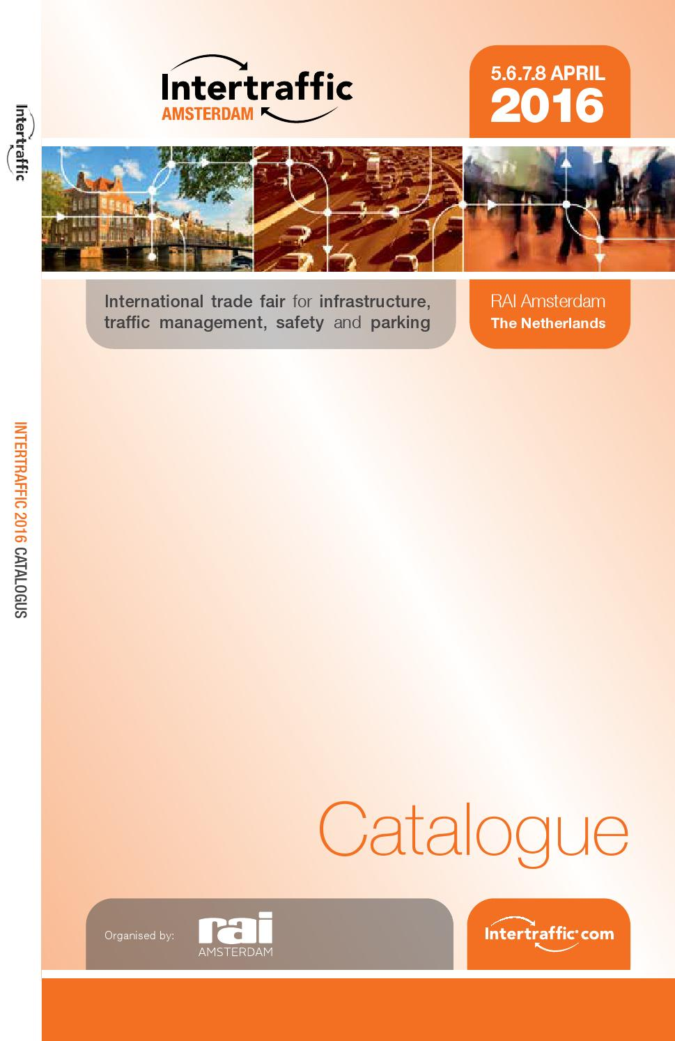 Intertraffic 2016 Catalogue By Rai Amsterdam Issuu Op Amps With Long Rc Time Constants Circuit Diagram Tradeoficcom