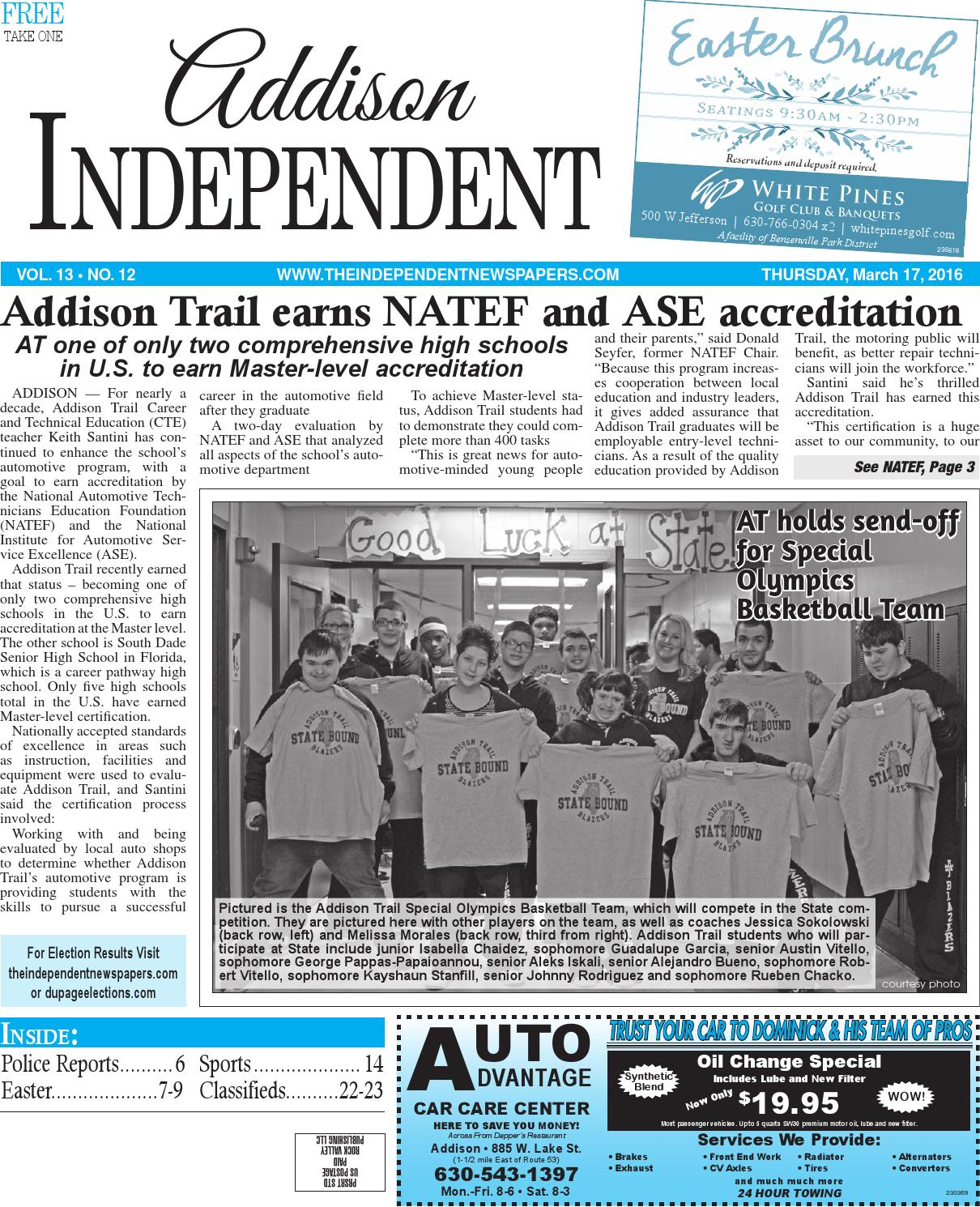Ai 3 17 16 By Southern Lakes Newspapers Rock Valley Publishing Issuu