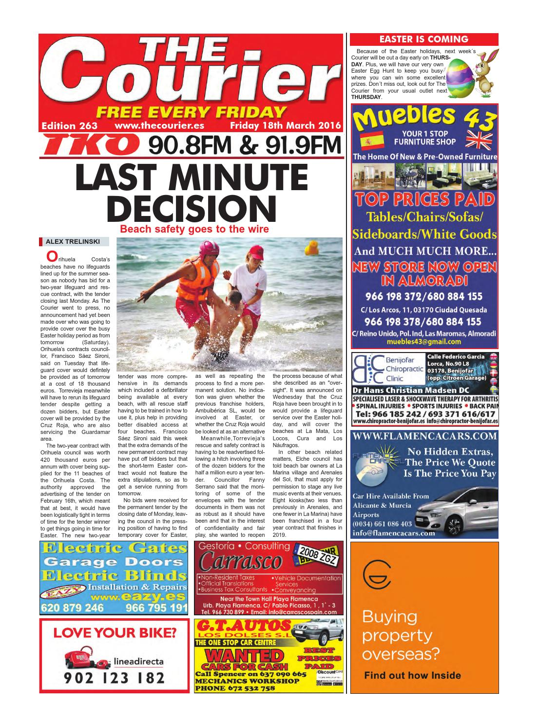 The Courier Edition 263 By The Courier Newspaper Issuu