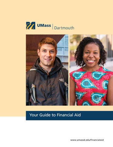 Dartmouth Financial Aid >> Umass Dartmouth Guide To Financial Aid 2016 By Umass