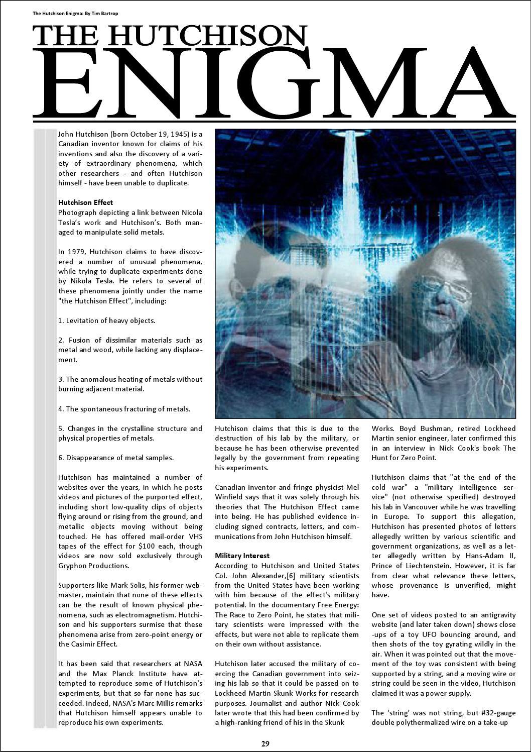 Phenomena magazine january 2016 by Steve Mera - issuu