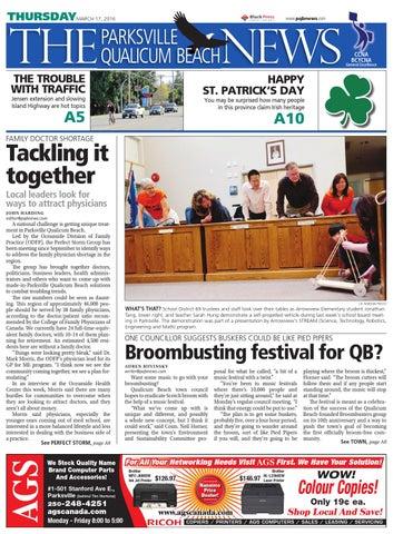 Parksville Qualicum Beach News, March 17, 2016 by Black Press Media