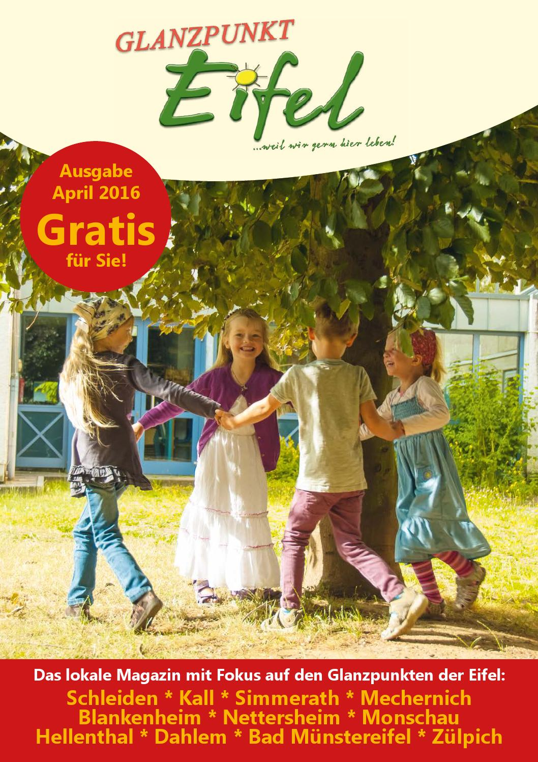 Glanzpunkt Eifel Ausgabe April 2016 By Glanzpunkt Eifel Issuu
