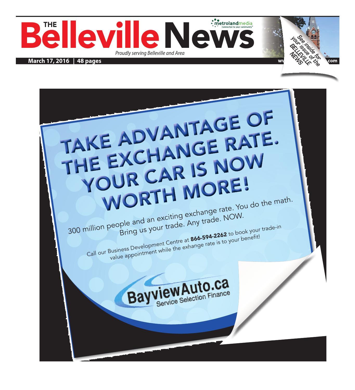 Belleville031716 by Metroland East - Belleville News - issuu