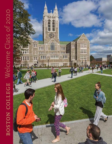 Can you please comment on this application essay introduction to Boston College?