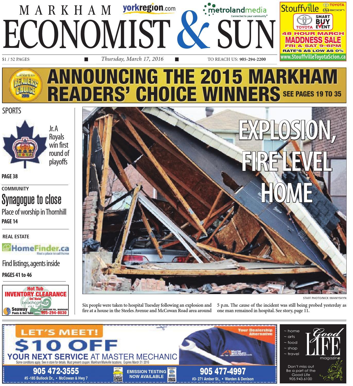 Markham Economist & Sun Newspaper