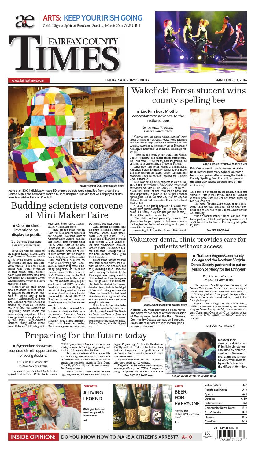 The Fairfax County Times by The Fairfax Times - Issuu