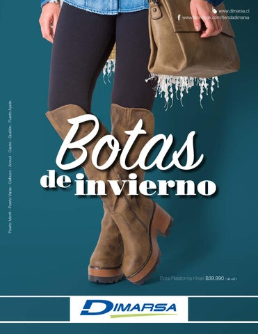 7f43317ba52ce Botas de Invierno by Dimarsa - issuu