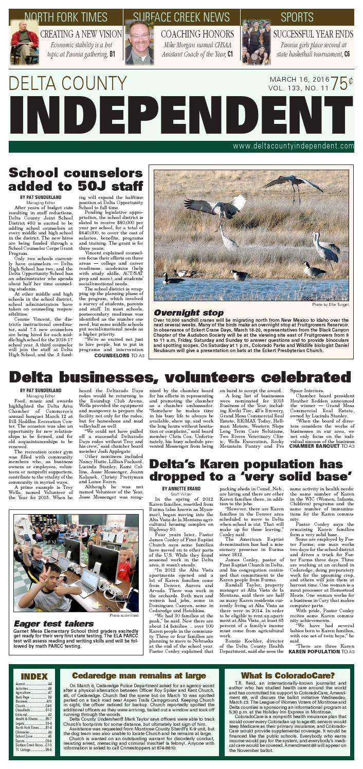 Delta county independent march 16 2016 by delta county independent delta county independent march 16 2016 by delta county independent issuu fandeluxe Choice Image