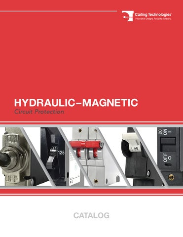 CARLING TECHNOLOGIES CA2-B0-34-650-121-D 2P Magnetic Circuit Breaker 50A 250VAC