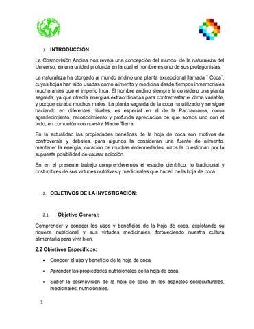 Hoja de coca by milenka - issuu
