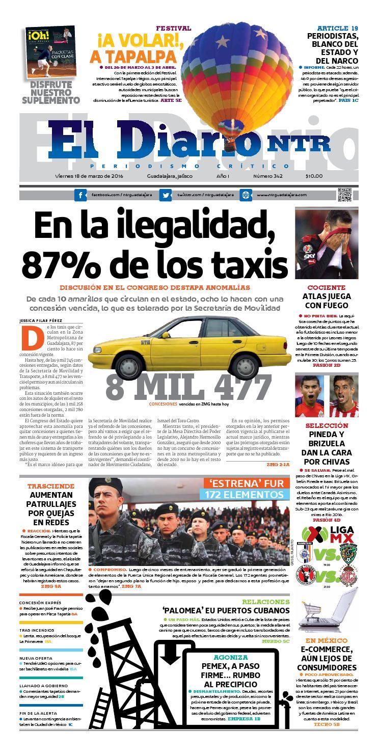El Diario NTR 342 by NTR Guadalajara - issuu