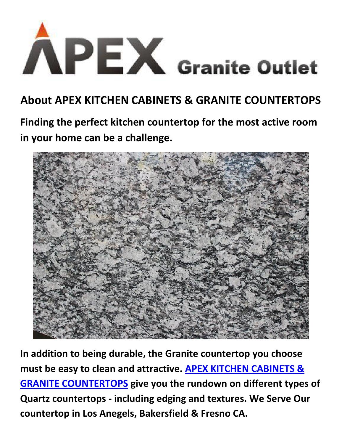 Apex Kitchen Cabinets Granite Counter By Apex Kitchen Cabinets Granite Countertops Issuu
