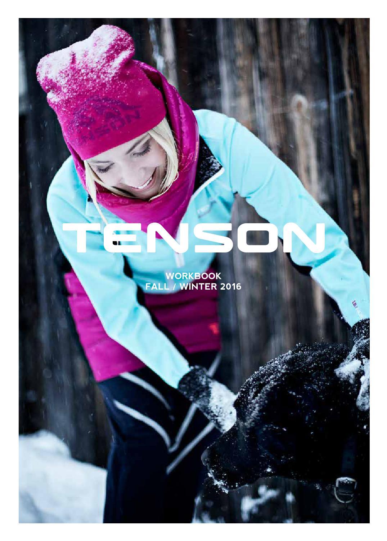 Uitgelezene Tenson Workbook AW16 by Tenson - issuu QN-22