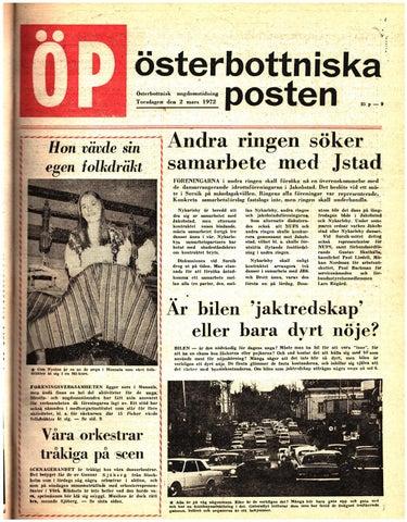 quality design e366d d5d79 Österbottniska Posten (ÖP) nr. 9 1972