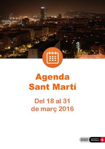 Agenda d activitats de Sant Martí (del 18 03 16 al 31 03 16) 9f1de2baf255
